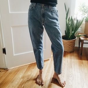 Vintage 90s Levi's Ultra High Rise 550 Denim Jeans
